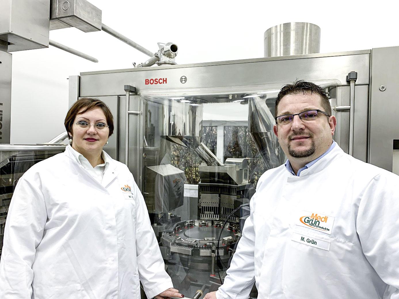 Mihaela und Markus Grün