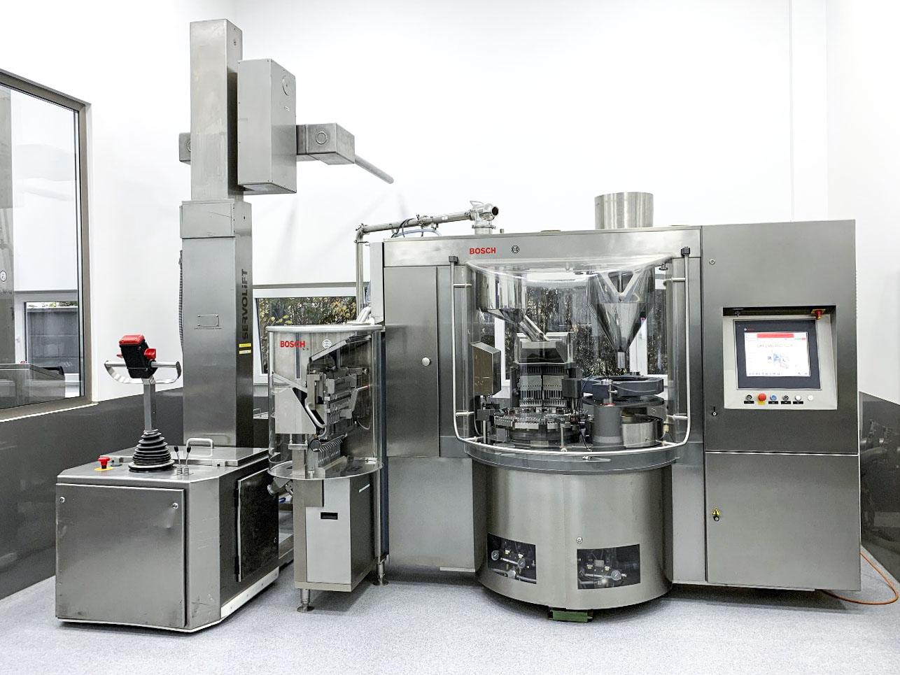 Maschinen bei MediGruen