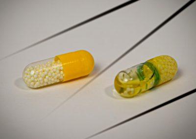 GreenCaps™ Duo mit Öl und Pellets